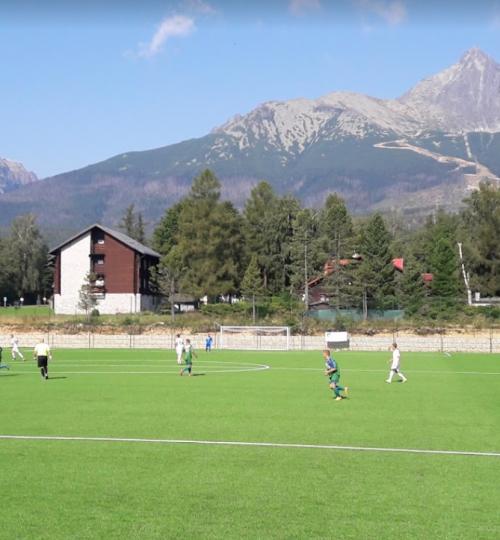 Futbalové ihrisko 500m