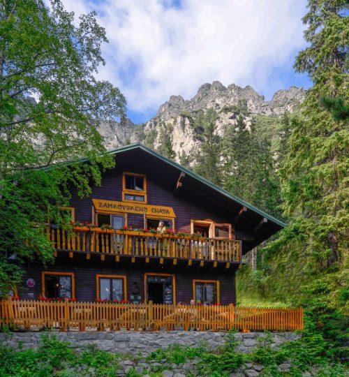 Zamkovského chata 10km